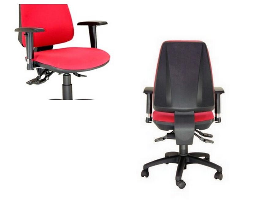 Silla oficina equis sillas mesas y taburetes multisilla for Mesas y sillas oficina