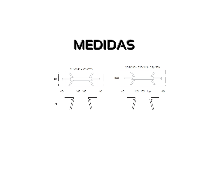 Mesa Comedor Magni Ramiro Tarazona - Sillas Mesas y Taburetes Multisilla
