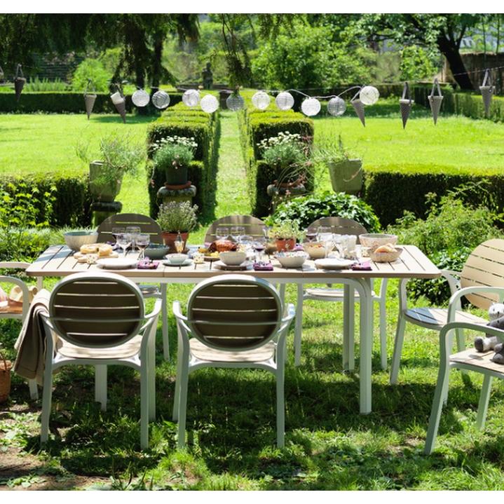 Conjunto terraza mesa 53 alloro y 6 sillas 53 palma for Oferta conjunto terraza