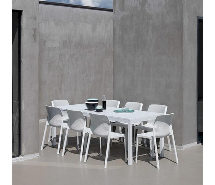 Conjunto terraza mesa 53 rio 140 y 6 sillas 53 bit for Oferta conjunto terraza