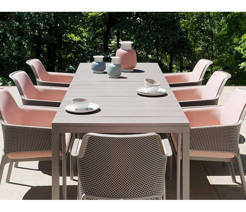 Conjunto terraza mesa 53 r o 210 y 8 sillones 53 net relax for Oferta conjunto terraza