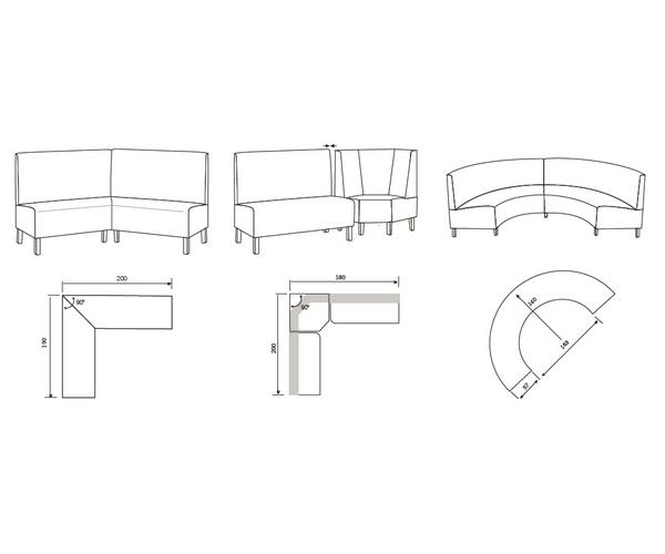 Banco cocina chelsea sillas mesas y taburetes multisilla for Horario bancos madrid