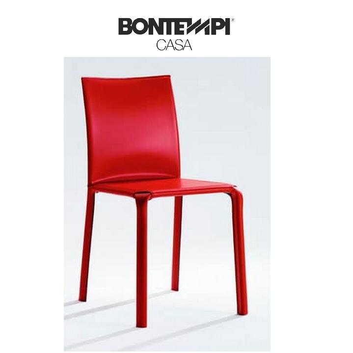 Silla alice bontempi respaldo bajo sillas mesas y for Sillas comedor respaldo bajo