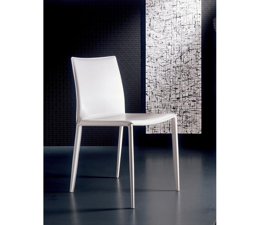 Silla linda bontempi respaldo bajo sillas mesas y for Sillas comedor respaldo bajo