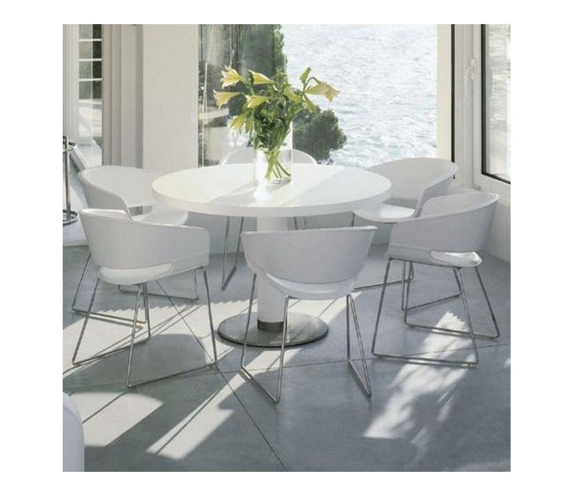 Silla ronda andreu world metal sillas mesas y taburetes - Andreu world catalogo ...