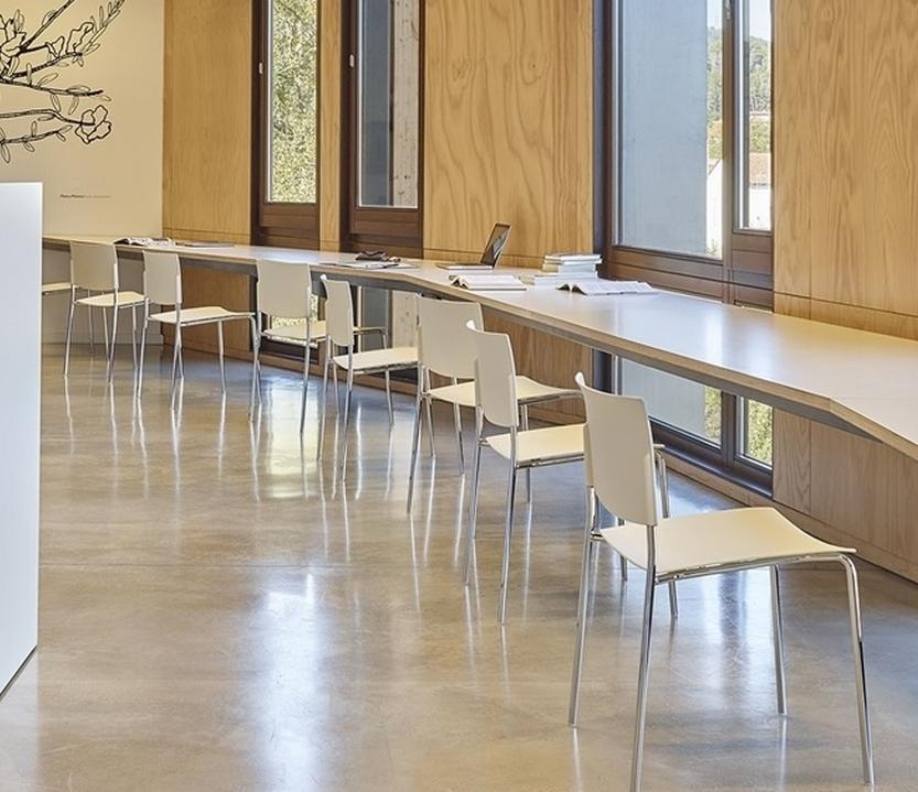 Silla sit andreu world metal sillas mesas y taburetes - Andreu world catalogo ...