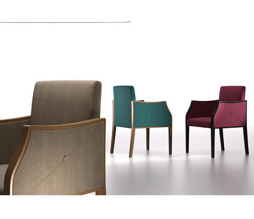 Sill n comedor 29 318 sillas mesas y taburetes multisilla for Sillon comedor