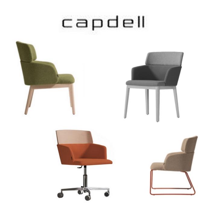 Sill n comedor concord capdell 2 capas sillas mesas y for Sillon comedor