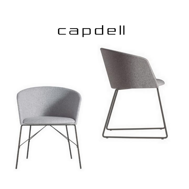 Sill n comedor concord capdell 2 capas sillas mesas y for Silla sillon comedor