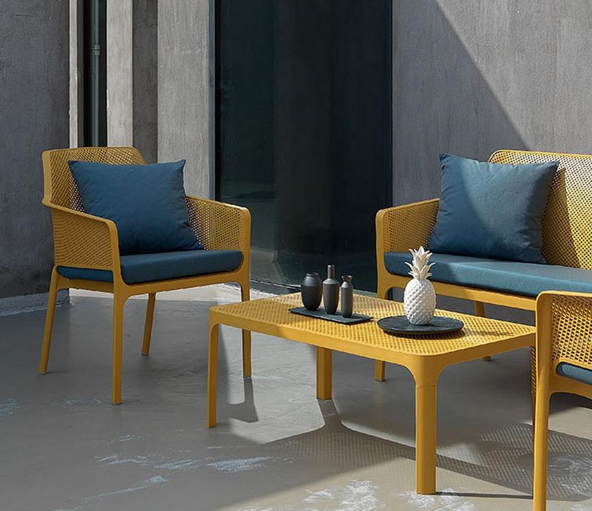 Sill n terraza 53 net relax sillas mesas y taburetes for Sillon terraza