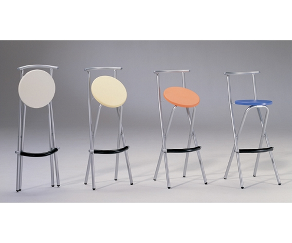 Taburete cocina plegable manhattan mobliberica sillas - Taburetes de cocina plegables ...